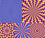 Link toBright psychedelic background vector