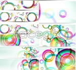Link toBright ring banner vector