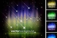 Link toBright shooting star background vector graphics