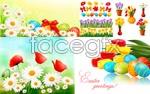 Link toBright spring flowers vector