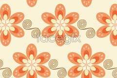 Link toBrightly colored fashionable flower background vector