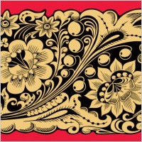 Link toBrilliant classical pattern 03 vector