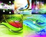 Link toBrilliant color background vector