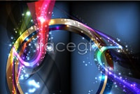 Link toBrilliant glowing background vector c