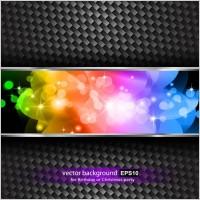 Link toBrilliant halo stars background 01 vector