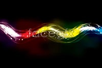 Brilliant neon effects, vector background 2
