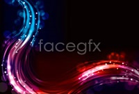 Brilliant neon effects, vector background 3