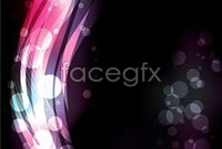 Brilliant neon effects, vector background 4