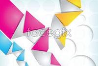 Link toBrilliant origami background vector