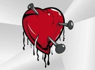 Link toBroken heart cartoon vector free