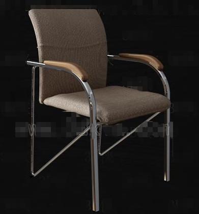 Link toBrown simple office chair 3d model
