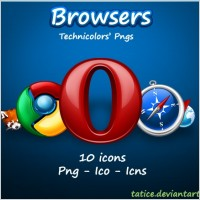 Link toBrowsers icons icons pack