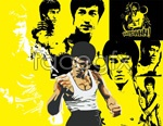 Link toBruce lee-vector