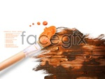 Link toBrushes and paints psd
