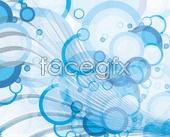 Link toBubble blue background vector
