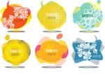 Link toBubbles colorful language vector