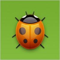 Link toBug icon (ladybug)