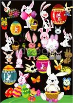 Link toBugs bunny rabbits vector