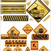 Link toBuilding and construction icons vector