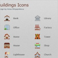 Link toBuildings icons icons pack