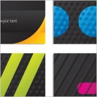 Link toBump texture background business card vector