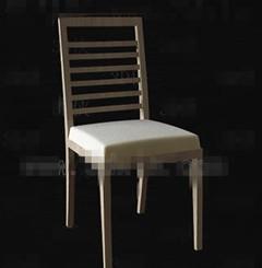 Link toBurly wood simple chair 3d model