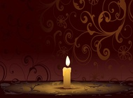 Link toBurning candle graphics vector free