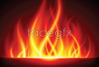 Link toBurning flame 2 vector graphic