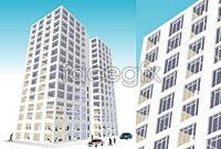 Link toBusiness building vector