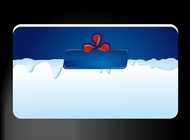 Link toBusiness card with ice vector free