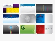 Link toBusiness cards templates pack vector free