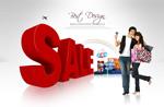 Link toBusiness center sale poster psd