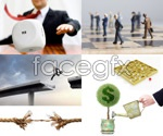 Link toBusiness concept of white collar 1 psd