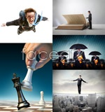 Link toBusiness concept of white collar 2 psd