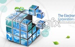 Link toBusiness cube psd