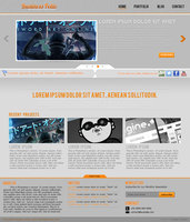 Link toBusiness folio template - psd for sale