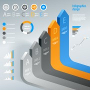Link toBusiness infographic creative design 1344 free