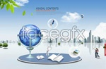 Link toBusiness information education concepts psd