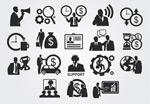 Link toBusiness man sketch icon vector