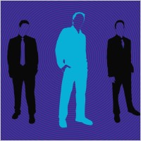 Link toBusiness men silhouettes
