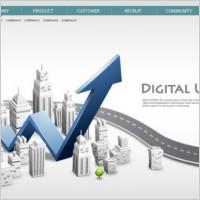 Link toBusiness network design vector 3 background information