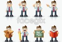 Link toBusiness people dress up cartoon vector