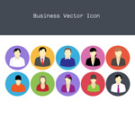 Link toBusiness people icons vector