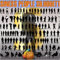 Link toBusiness people silhouettes