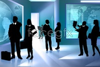 Link toBusiness people silhouettes hd pictures