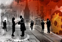 Link toBusiness people silhouettes high definition pictures