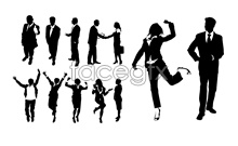 Link toBusiness people silhouettes psd source