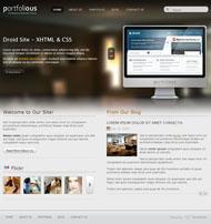 Link toBusiness portfolio html5 website template