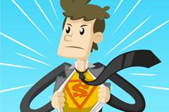 Link toBusiness super men vector