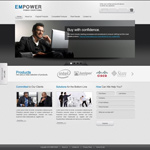 Link toBusiness website psd